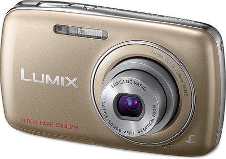 Panasonic Lumix DMC-S1 zlatý
