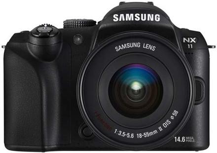 Samsung NX11 + 18-55 mm OIS i-Function