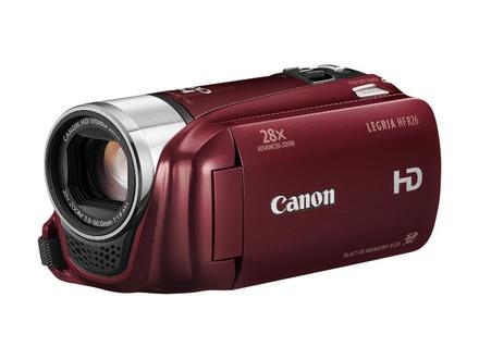Canon LEGRIA HF R26 - červená