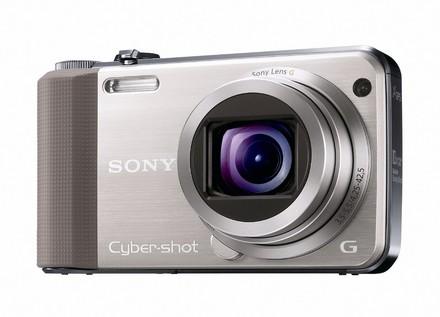Sony CyberShot DSC-HX7 zlatý + nahradní akumulátor zdarma!
