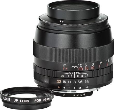 Voigtlander Apo-Lanthar 90mm f/3,5 SL II Asph. EOS pro Canon