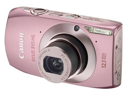 Canon IXUS 310 HS růžový