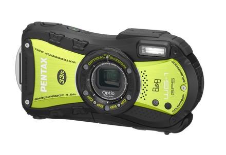Pentax Optio WG-1 GPS zelený