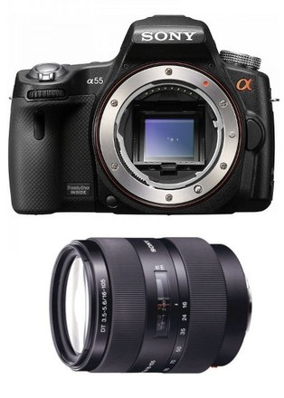 Sony Alpha A55 + 16-105 mm