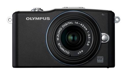 Olympus E-PM1 + 14-42 mm II R černý + 8GB karta + brašna TLZ 10!