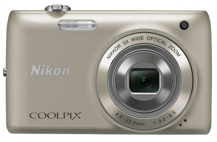 Nikon Coolpix S4150 stříbrný + 4GB karta + pouzdro DF11 zdarma!