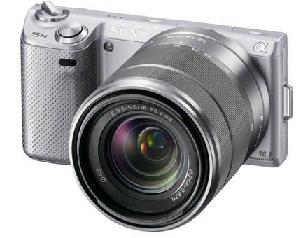 Sony NEX-5N stříbrný + 18-55 mm