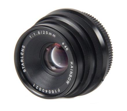 StarLens objektiv 25mm F1,8 X Mount