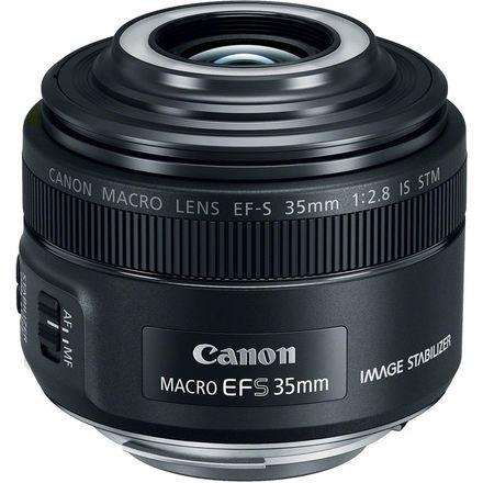 Canon EF-S 35mm f/2,8 Macro IS STM s LED světlem