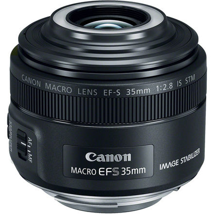 Canon EF-S 35mm f/2,8 Macro IS STM s LED světlem