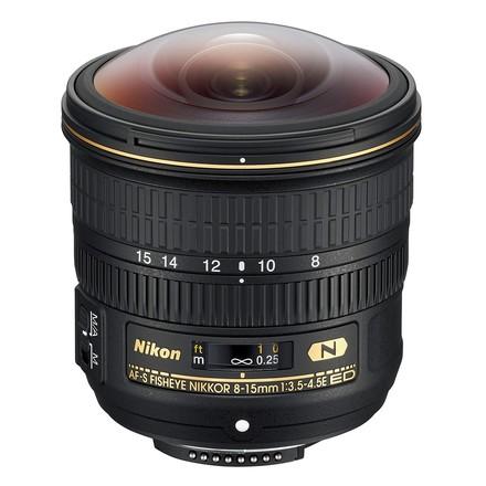 Nikon 8-15mm f/3,5-4,5 E ED Fisheye