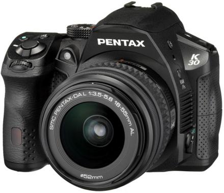 Pentax K-30 + 18-55 mm + 55-300 mm černý