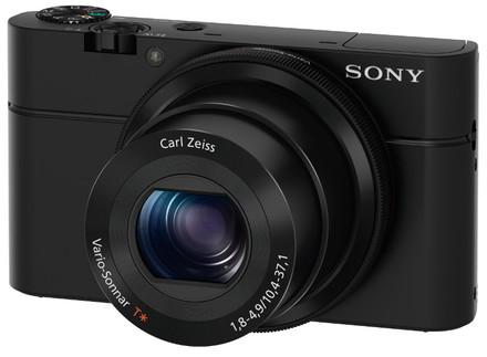 Sony CyberShot DSC-RX100 + 32GB karta + originální pouzdro + akumulátor + čistící utěrka!