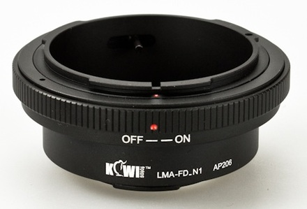 JJC adaptér z Canon FD na Nikon 1