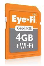 Eye-Fi Geo X2 4GB