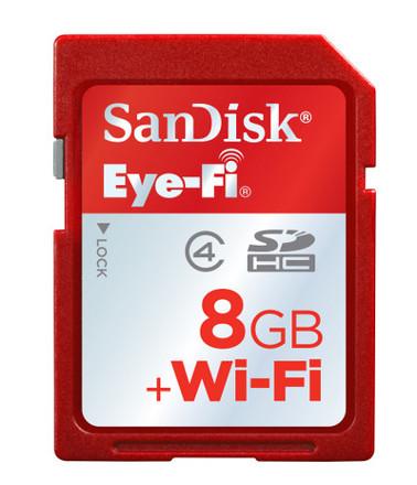 SanDisk 8GB SDHC Eye-fi