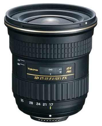 Tokina AT-X 17-35mm f/4,0 Pro FX pro Nikon