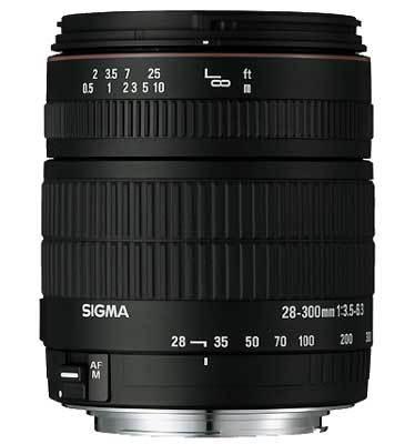 Sigma 28-300 mm F 3,5-6,3 DG MACRO pro Canon + utěrka Sigma zdarma!