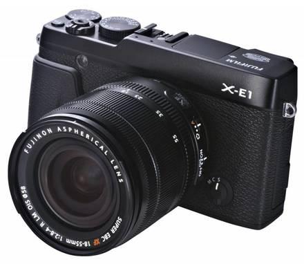 Fujifilm X-E1 + 18-55 mm