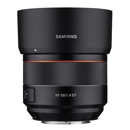Samyang 85mm AF f/1,4 pro Canon EF