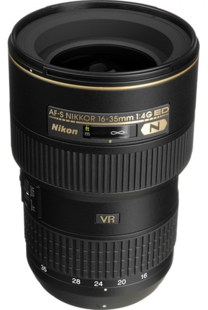 Nikon 16-35mm f/4,0 AF-S G ED VR