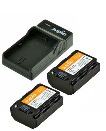 Jupio Kit 2x NP-FZ100 + USB Single Charger pro Sony