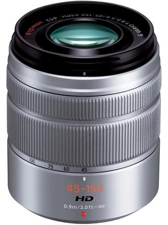 Panasonic LUMIX G VARIO 45-150mm f/4,0-5,6 ASPH stříbrný