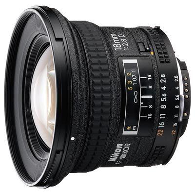 Nikon 18 mm F2,8 AF NIKKOR D A s HB-8 / CL-47
