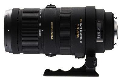Sigma 120-400 mm F 4,5-5,6 APO DG OS HSM pro Sigma + utěrka Sigma zdarma!