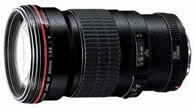 Canon EF 200mm f/2.8L II USM a Extender EF 1.4x II