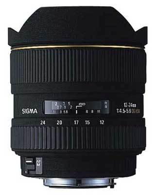 Sigma 12-24 mm F 4,5-5,6 EX DG ASP HSM pro Canon + utěrka Sigma zdarma!