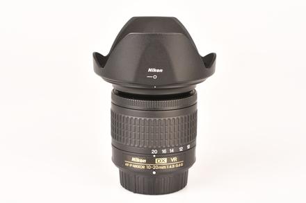 Nikon 10-20mm f/4,5-5,6 G AF-P VR DX bazar