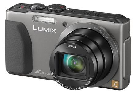 Panasonic Lumix DMC-TZ40 stříbrný + 16GB Ultra karta + originální pouzdro + čistící utěrka!