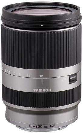 Tamron AF 18-200mm f/3,5-6,3 Di-III VC pro Sony E stříbrný