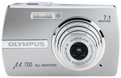 Olympus Mju 700 stříbrný