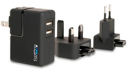 GoPro síťový adaptér