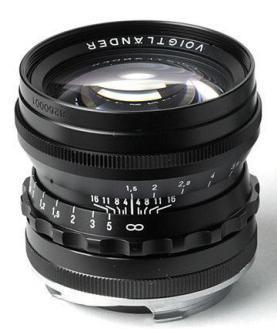 Voigtlander Nokton 50mm f/1,5 pro M-bajonet černý