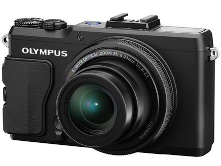 Olympus XZ-2 černý + hledáček VF-2