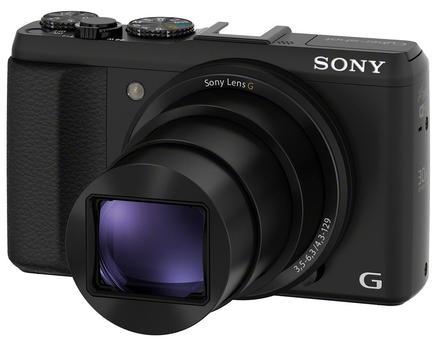 Sony CyberShot DSC-HX50 černý + 16GB Class 10 + pouzdro 7H + čistící utěrka!