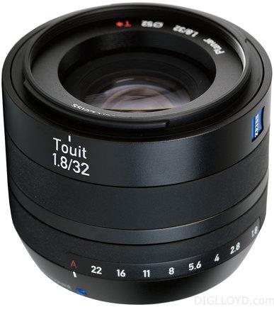 Zeiss Touit T* 32mm f/1,8 X pro Fuji X