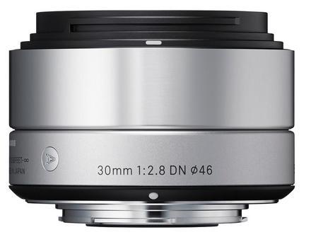 Sigma 30mm f/2,8 DN Art pro micro 4/3 stříbrný