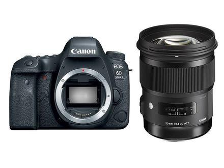 Canon EOS 6D Mark II + Sigma 50 mm f/1,4 DG HSM Art
