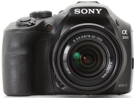 Sony Alpha A3000 tělo