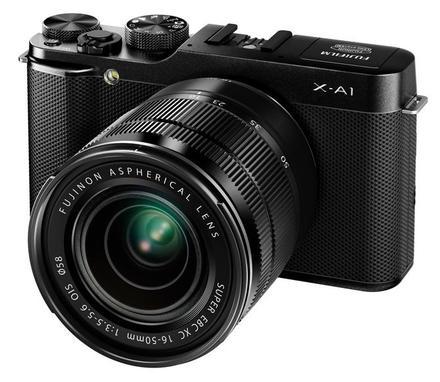 Fujifilm X-A1 + 16-50 + 50-230 mm černý