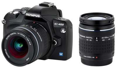 Olympus E-400 Double Zoom Kit