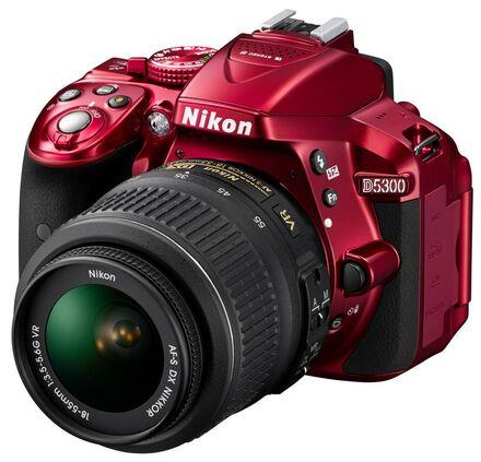 Nikon D5300 + 18-55 mm AF-P VR