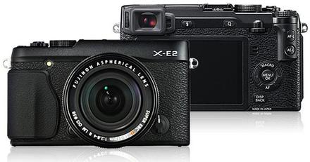 Fujifilm X-E2 + 18-55 mm černý + 55-200mm f/3,5-4,8 R LM OIS!