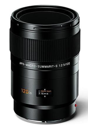 Leica 120mm f/2,5 APO MACRO CS SUMMARIT-S