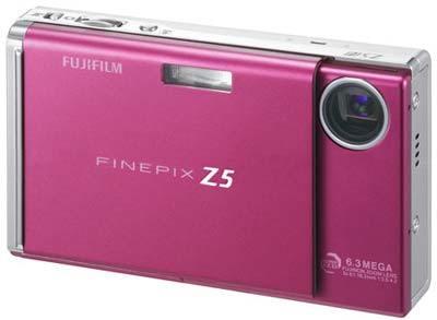Fuji FinePix Z5fd červený