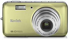 Kodak EasyShare V803 zlatý